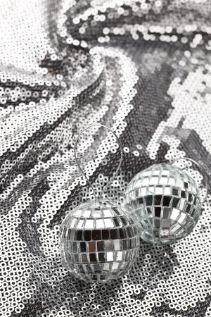silver balls: silver balls Stock Photo