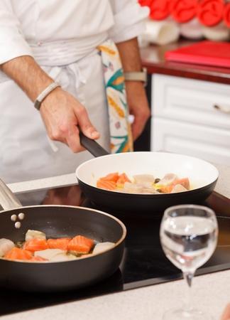 chef at work photo