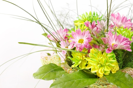bouquet of colorful flowers  Stock Photo - 12149447