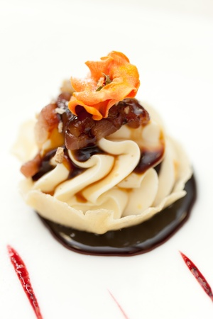 mascarpone: dessert with mascarpone cheese