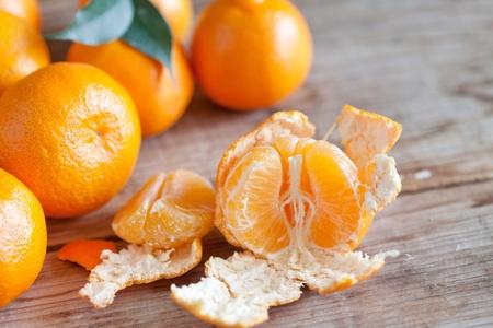fresh tangerines Stock Photo - 12355546