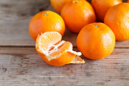 fresh tangerines Stock Photo - 12355522