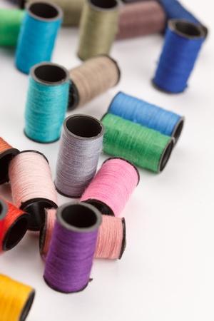 lurex: bobbins of lurex thread