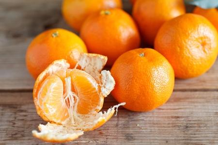 fresh tangerines Stock Photo - 12353102