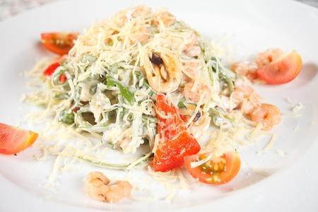 parmezan: tasty salad