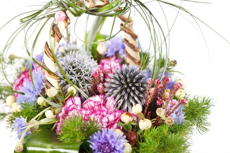 bouquet of colorful flowers Stock Photo - 12542473