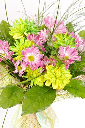 bouquet of colorful flowers Stock Photo - 12542663