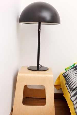 bedside lamp Stock Photo - 12985510