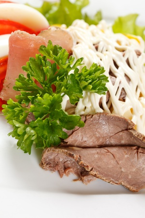 beef with vegetables photo