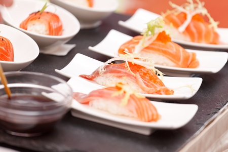 sushi on the table Stock Photo - 13304052