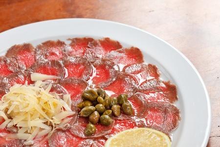 carpaccio: Meat Carpaccio
