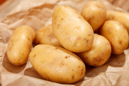 fresh potatoes Stock Photo - 13303939