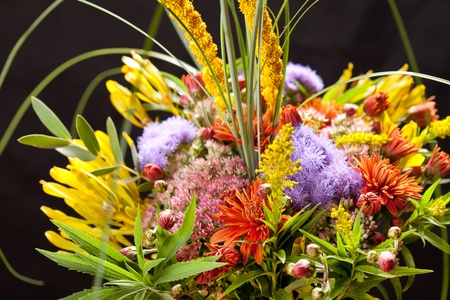bouquet of colorful flowers Stock Photo - 13473492