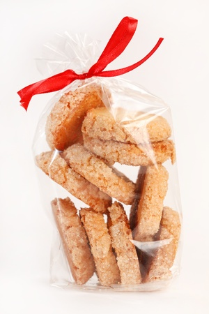 pastry bag: christmas cookies Stock Photo