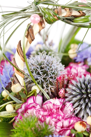 bouquet of colorful flowers Stock Photo - 13473107