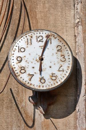 vespers: Old clock
