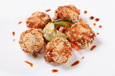 Fried Shrimp Stock Photo - 13689682