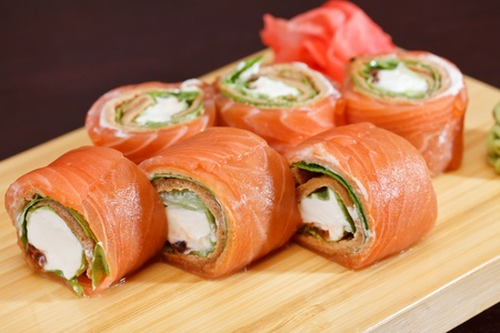 tasty sushi Stock Photo - 13834905