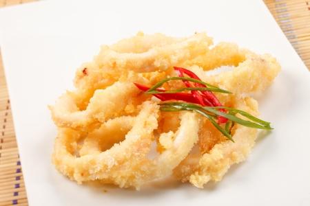 Fried Calamari Rings  photo