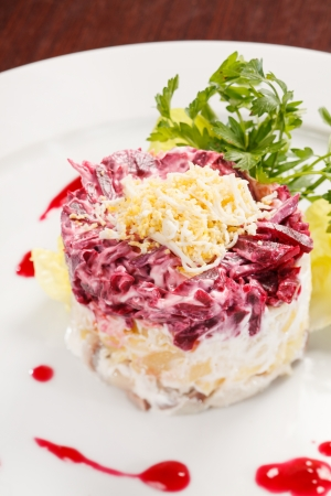 Russian herring salad Stock Photo - 14023738