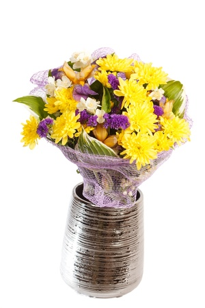 bouquet of colorful flowers  Stock Photo - 14082435