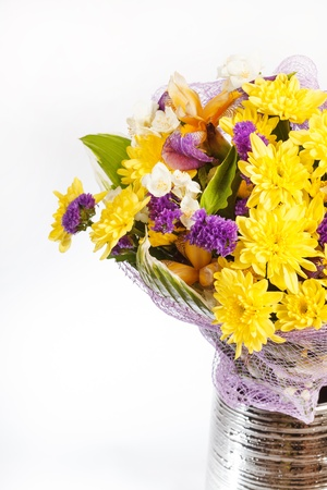 bouquet of colorful flowers Stock Photo - 14082447