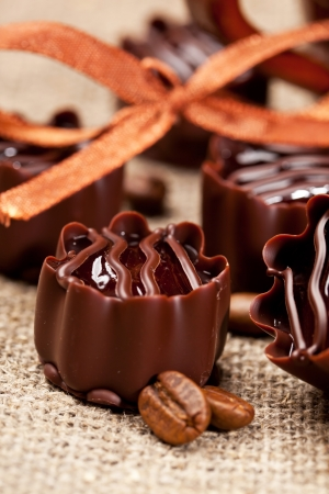 chocolate sweets photo