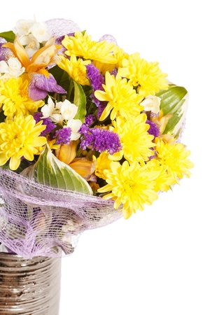 bouquet of colorful flowers Stock Photo - 14698204