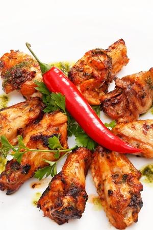 bbq chicken: Grilled chicken