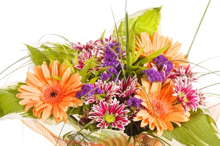 bouquet of colorful flowers  photo