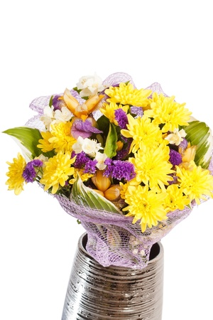 bouquet of colorful flowers Stock Photo - 14851069