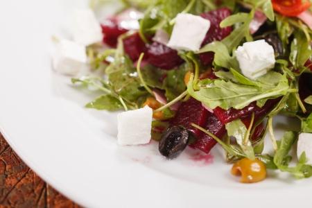 organic salad photo