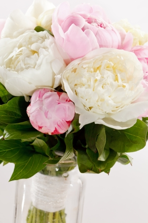 Rich bunch of peonies Stock Photo - 14906494