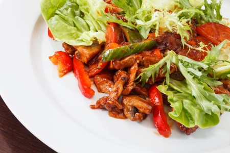 Meat with Vegetables Stock Photo - 14985152