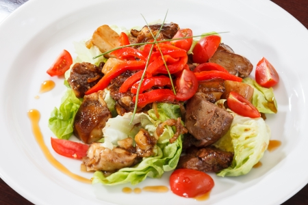 meat with vegetables Stock Photo - 14985230