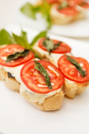 tasty bruschetta photo