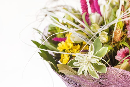 bouquet of colorful flowers Stock Photo - 15046181