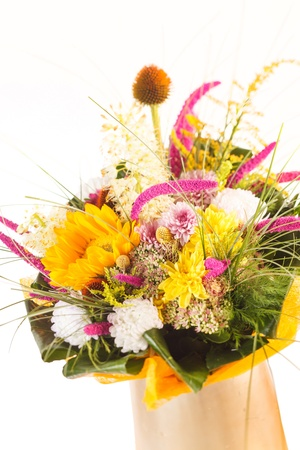 bouquet of colorful flowers Stock Photo - 15046140