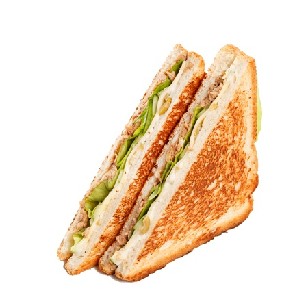 sandwich with ham photo