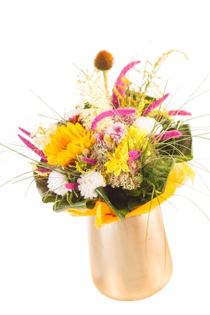 bouquet of colorful flowers Stock Photo - 15240882