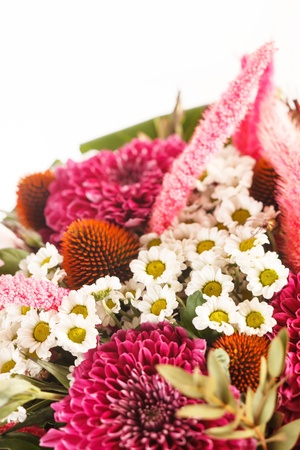 bouquet of colorful flowers Stock Photo - 15341221