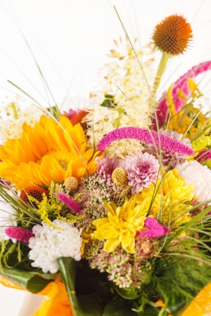 bouquet of colorful flowers Stock Photo - 15341223