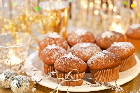 Christmas muffins photo