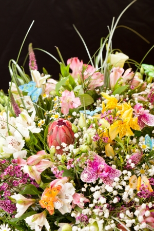 bouquet of colorful flowers Stock Photo - 15451295