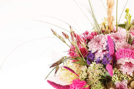bouquet of colorful flowers Stock Photo - 15451265