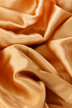 golden silk Stock Photo - 15568487