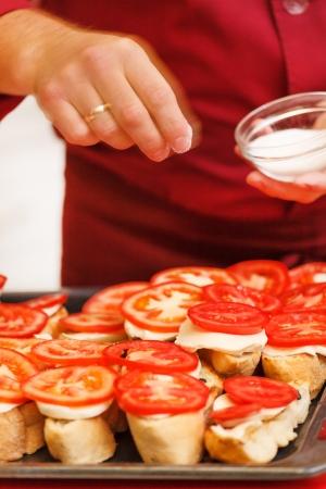 tasty bruschetta photo
