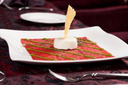 carpaccio: Beef Carpaccio  Stock Photo