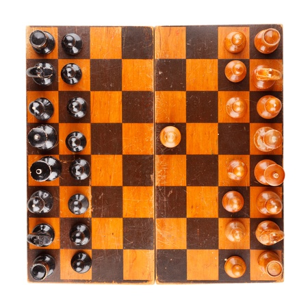 chellange: wooden chess