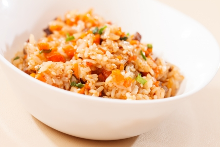 rice with vegetables Stock Photo - 15951321